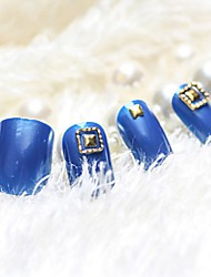 cheap -24 pcs Multi Function / Best Quality Eco-friendly Material Geometric Rhinestones For Creative nail art Manicure Pedicure Daily Fashion