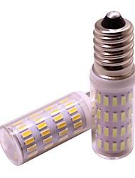 cheap -2pcs 4 W LED Corn Lights 360 lm E14 63 LED Beads SMD 4014 New Design Warm White Cold White 12 V / RoHS