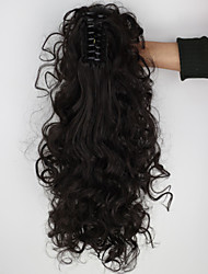 cheap -Ponytails Hair Piece Curly Classic Synthetic Hair 18 inch Hair Extension Daily