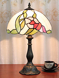 cheap -12 Inch Desk Light Rose Artistic Tiffany Ambient Lamps Decorative Lovely Table Lamp For Indoor Bedroom Resin 110-120V 220-240V 40W*1 Bulb Not Included