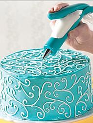 abordables -1pc Plastique Pour Ustensiles de cuisine Nouveaux Ustensiles de Cuisine Dessert Décorateurs Outils de desserts Outils de cuisson