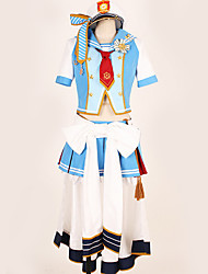 cheap -Inspired by Love Live Cosplay Anime Cosplay Costumes Japanese Cosplay Suits Art Deco / Special Design Top / Skirt / Gloves For Men's / Women's