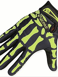 cheap -Full Finger Men's Motorcycle Gloves Cloth / Microfiber Breathable / Wearproof / Protective