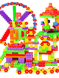 cheap -Building Blocks Construction Set Toys Educational Toy 72 pcs Creative compatible Legoing Relieves ADD, ADHD, Anxiety, Autism Simulation Parent-Child Interaction All Boys' Girls' Toy Gift