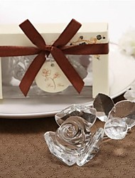 cheap -Glasses Flower Style / Love Coaster Favors - 1 pcs Piece/Set Wedding / Friends All Seasons