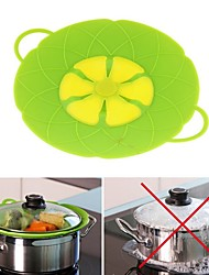 cheap -10.2inch Silicone Lid Spill Stopper Pot Cover for Pan Pot Flower Shape Cooking Tools
