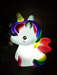 Недорогие -единорог LED освещение Игрушки с подсветкой Милый Детские Для подростков для подарков на день рождения и вечеринок