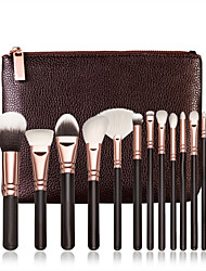 cheap -Professional Makeup Brushes 15pcs Full Coverage Wooden / Bamboo for Makeup Brush