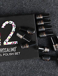 cheap -Nail Polish UV Gel  7 ml 12 pcs Trendy / Glamour Soak off Long Lasting  Engagement / Date / Professional Trendy / Glamour