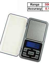 cheap -500g/0.1g Weigh Digital Kitchen Scales Jewelry Scales LCD Display Mini Electronic Scale Balance Pocket Scale Kitchen tools