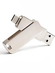 Недорогие -32 Гб флешка диск USB USB 3.0 / Type-C Металл Необычные Беспроводной диск памяти
