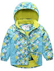 cheap -MARSNOW® Boys' Girls' Ski Jacket Camping / Hiking Winter Sports Windproof Warm Skiing 100% Cotton Chenille Windbreaker Warm Top Top Ski Wear