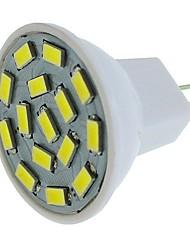 cheap -6pcs 1pc 6 W LED Spotlight 450 lm G4 MR11 MR11 15 LED Beads SMD 5630 Decorative Warm White White Blue 12-24 V