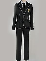 preiswerte -Inspiriert von Guilty Crown Ouma Shu Anime Cosplay Kostüme Japanisch Schuluniformen Britisch Zeitgenössisch Mantel Bluse Top Für Herrn Damen / Hosen / Krawatte / Hosen / Krawatte