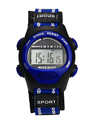 Недорогие -Дамы Спортивные часы электронные часы Цифровой Фиолетовый Защита от влаги Цифровой Кулоны Мода - Лиловый Розовый Серый Один год Срок службы батареи / Tianqiu 377