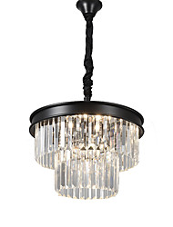 cheap -QINGMING® 6-Light 43 cm Crystal / Mini Style Chandelier Metal Mini Painted Finishes Retro / Country 110-120V / 220-240V