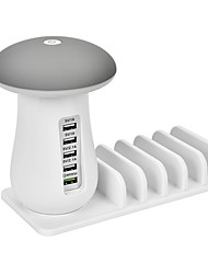 cheap -USB Charger SR-1016LM 5 Desk Charger Station with Smart Identification / with Quick Charge 3.0 USB Charging Adapter