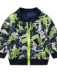 cheap -Baby Boys' Vintage Solid Colored Long Sleeve Regular Linen Jacket & Coat Green / Toddler