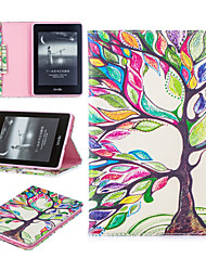 cheap -Case For Apple iPad Pro 11'' / iPad Mini 5 / iPad New Air(2019) Card Holder / Shockproof Full Body Cases Tree Hard PU Leather