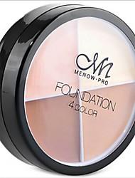 abordables -4 couleurs 1 pcs Humide Correcteur / Multifonction / Professionnel Maquillage # Professionnel / Mode Pro / Massage Usage quotidien Maquillage Cosmétique