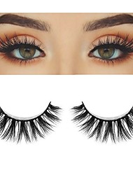 cheap -Eyelash Extensions 2 pcs Handmade Cute Soft Soft Beauty Cute Animal wool eyelash Party Birthday Daily Wear Crisscross Natural Long The End Is Longer - Makeup Daily Makeup Sexy High Quality Cosmetic
