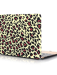 cheap -MacBook Case for Air Pro Retina 11 12 13 15 Oil Painting Leopard PVC Laptop Cover Case for Macbook New Pro 13.3 15 inch with Touch Bar