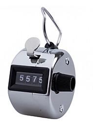 abordables -clicker compteurs de chiffres à 4 chiffres coquille en plastique main affichage des doigts compte manuel décompte compteur clicker minuterie soccer golf counter