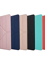 cheap -Case For Apple iPad Air / iPad 4/3/2 / iPad Mini 3/2/1 Shockproof / with Stand / Flip Full Body Cases Solid Colored TPU / Silica Gel