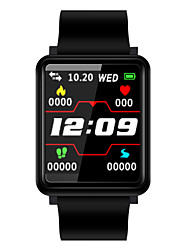 cheap -BoZhuo F1 Unisex Smart Bracelet Smartwatch Android iOS Bluetooth Sports Heart Rate Monitor Blood Pressure Measurement Calories Burned Exercise Record Pedometer Call Reminder Sleep Tracker Sedentary