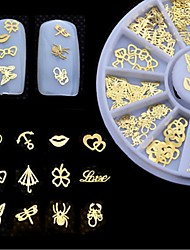 cheap -1 pcs Multi Function Eco-friendly Material Nail Jewelry For Creative nail art Manicure Pedicure Daily Trendy / Fashion