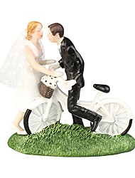 cheap -Cake Topper Beach Theme / Garden Theme / Classic Theme Classic Couple ABS Resin Wedding / Special Occasion with Solid 1 pcs Gift Box