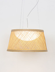 cheap -LED 10W Rattan Pendant Light Natural Style for Dinning Room Resturant  Dia40cm