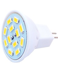 cheap -6pcs 1.5 W LED Spotlight 450 lm G4 MR11 MR11 12 LED Beads SMD 5730 Decorative Warm White Cold White 12-24 V