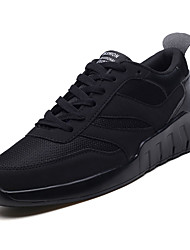 cheap -Men's Comfort Shoes Mesh Spring Casual Athletic Shoes Walking Shoes Breathable Black / Black / White / Gray