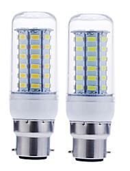 cheap -1pc 12 W LED Corn Lights 1600-1900 lm B22 56 LED Beads SMD 5730 Decorative Warm White Cold White 220-240 V 110-130 V / RoHS