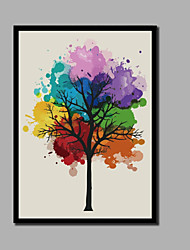 cheap -Print Stretched Canvas Prints - Christmas Decorations Modern Comtemporary Modern