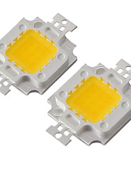 cheap -YouOKLight 2pcs Integrated LED 820-900 lm Die-cast Aluminum LED Chip 10 W