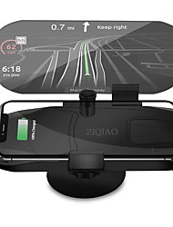 cheap -ZIQIAO Universal Wireless Charger Navigation Bracket HUD Head Up Display