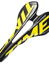 cheap -Bike Saddle / Bike Seat Lightweight Breathable Comfort Hollow Design Carbon Fiber Cycling Road Bike Mountain Bike MTB Fixed Gear Bike Black / Yellow