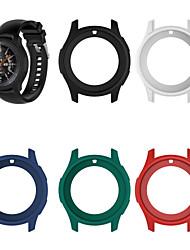 cheap -Case For Samsung Galaxy Gear S3 Frontier / Samsung Galaxy Watch 46 Silicone Samsung Galaxy