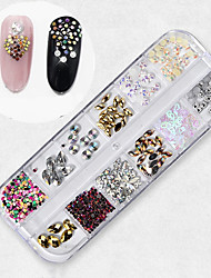 cheap -1 pcs Universal / Novelty Plastics Nail Jewelry Rhinestones For Finger Nail Classic Theme Creative nail art Manicure Pedicure Daily / Festival Korean / Fashion