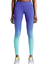 cheap -Women's Pocket Running Tights Blue Sports Fashion Leggings Yoga Exercise & Fitness Gym Workout Activewear Lightweight Breathable Quick Dry High Elasticity