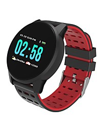 cheap -W1 Smart Watch BT Fitness Tracker Support Notify/ Heart Rate Monitor/ Distance Tracking Sports Smartwatch Compatible with iPhone/ Samsung/ Android Phones
