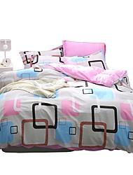 cheap -Duvet Cover Sets Geometric 100% Cotton Printed 4 PieceBedding Sets