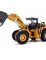 cheap -1:50 Metal Alloy Alloy Metal Metal Construction Truck Set Dozer Excavator Wheel Loader Toy Truck Construction Vehicle Toy Car Model Car Simulation Excavating Machinery Unisex Boys' Girls' Kid's Car