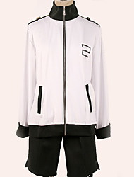 cheap -Inspired by Vocaloid Cosplay Anime Cosplay Costumes Japanese Cosplay Suits Black & White / Contemporary Top / More Accessories / Shorts For Men's / Women's