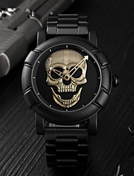 cheap -SKMEI Men's Sport Watch Analog Digital Luxury Water Resistant / Waterproof Casual Watch Skull / Stainless Steel