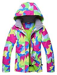 cheap -RIVIYELE Women's Ski Jacket Skiing Skiing Chinlon Top Ski Wear / Winter