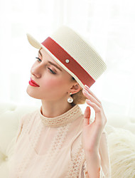 cheap -Elizabeth The Marvelous Mrs. Maisel Women's Adults' Ladies Retro Vintage Felt Hats Hat Beige Coffee Blue Vintage Organza Headwear Lolita Accessories