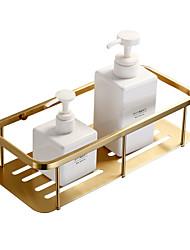 abordables -Etagère de Salle de Bain Design nouveau Moderne Acier inoxydable 1pc - Salle de Bain Montage mural